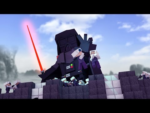 Minecraft | BASE VS VADER.EXE - Death Star Defense! (Star Wars Base Challenge)