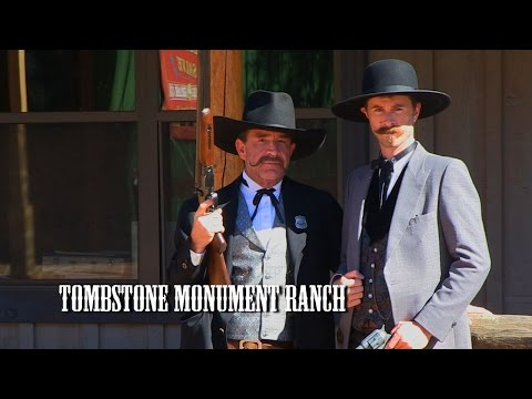 WELCOME TO TOMBSTONE MONUMENT RANCH