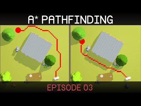 A* Pathfinding (E03: algorithm implementation)