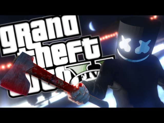 EVIL DJ MARSHMELLO MOD (GTA 5 PC Mods Gameplay)