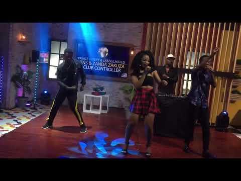 Prince Kaybee ft Zanda & DangerFlex SA - Club Controller Perfomance On Mzansi Insider 2018