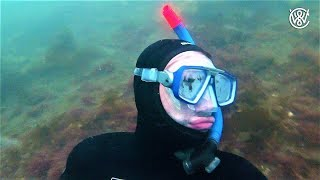 Freediving To Find a Wreck With Almost No Visibility - Finding Fish Hooks