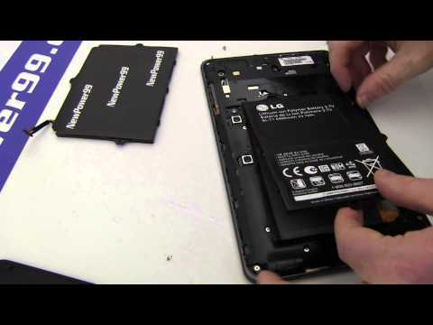 How to Replace Your LG Optimus Pad Battery