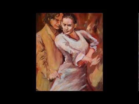 Flamenco- Peintures d'Isabelle Jacq Gamboena
