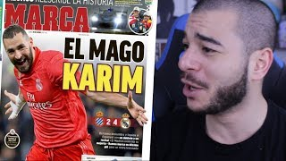 BENZEMA PLUS FORT QUE MESSI !!!!! (Je rigole)