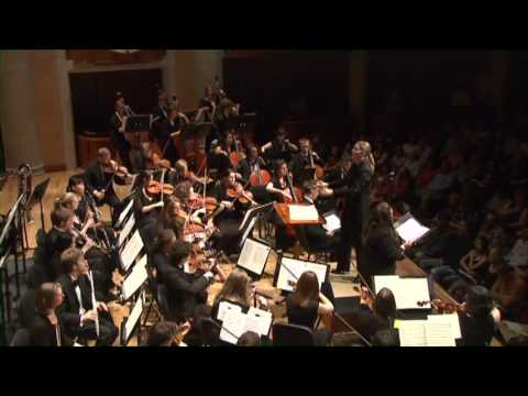 Catherine Sailer conducts Vaughan Williams Sea Symphony first movement