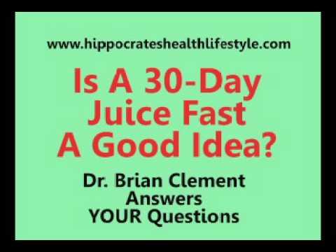 Hippocrates Florida: Juice Fast Dangerous?
