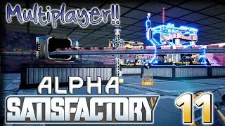 Copper Cave – Satisfactory Multiplayer Alpha Gameplay – [Stream VOD] Part 11
