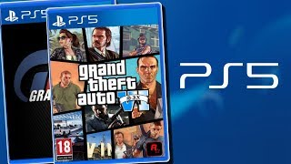 PS5 | The Playstation 5 Will Have GRAND THEFT AUTO 6 & GRAN TURISMO 7 As Launch Games!