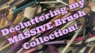 LIVE CHAT: Decluttering my HUGE Brush Collection! | Jen Luvs Reviews