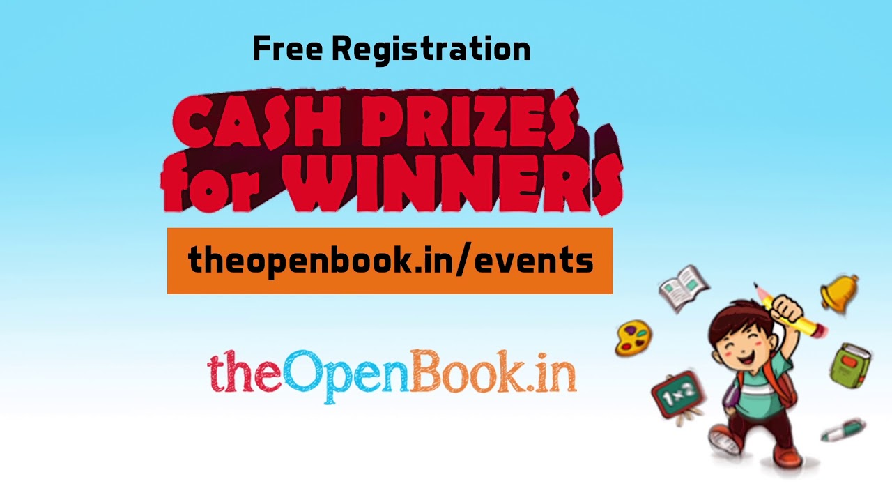 Short story Competition | Events | The Open Book | Education Videos