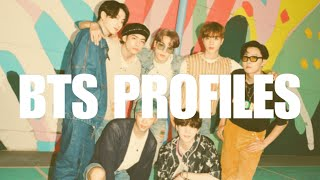 learn the names of the BTS members!