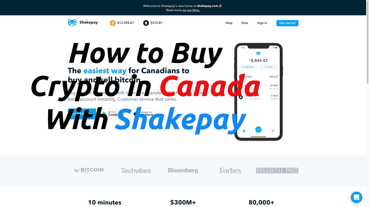 How to buy Bitcoin in Canada with Shakepay (Get $10 FREE)