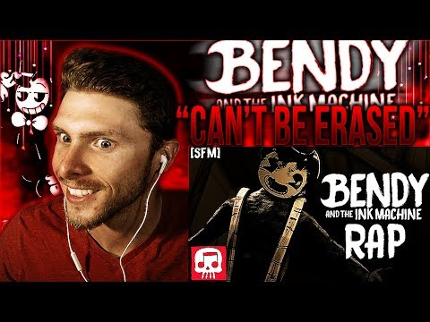 Vapor Reacts #413  SFM BENDY AND THE INK MACHINE RAP Cant Be Erased  JT Machinima REACTION!!