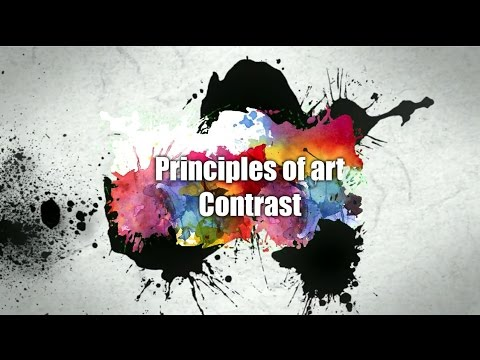 Principles Of Art And Design Contrast