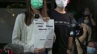 香港民主活动人士黎智英等人获得保释
