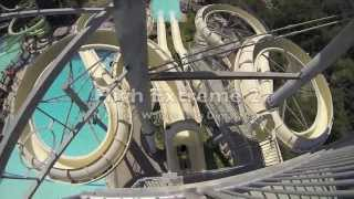 High Extreme 2 : Left Side (HD POV) - Water Slide at Raging Waters (San Dimas, CA)