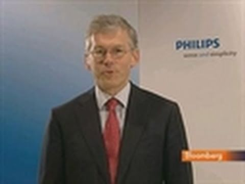Philips's Van Houten Says TV Venture Allows Health Focus