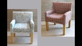 1/12th Scale Bedroom Chair Tutorial - Part One