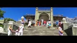 Воронцовский дворец 2015 ; Vorontsov Palace 2015(Воронцовский дворец расположен в г. Алупка (Крым) у подножия горы Ай-Петри. Построен из диабаза, который..., 2015-08-19T07:03:18.000Z)