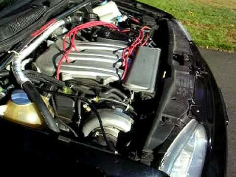 My VW GTI MKIV VR6 VF Engineering Stage 1 supercharger back in the