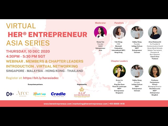 HER® Entrepreneur Asia Series 10 December 2020: Leadership Amidst Adversity