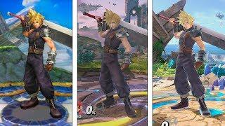 Super Smash Bros Ultimate | Cloud Evolution | 2014-2018