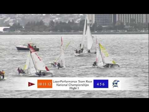 ICSA 2016 Laser Performance Team Racing Championship Day 2 pt.4