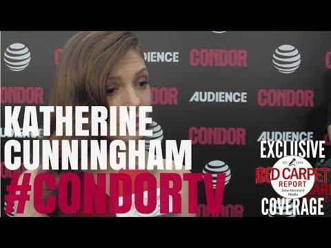 Katherine Cunningham ed at premiere of CondorTV AUDIENCEnetwork NowStreaming