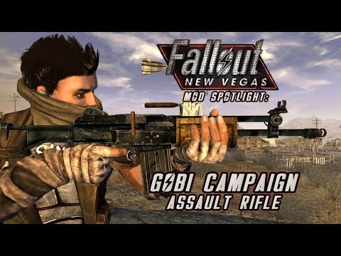 Mod Spotlight: Gobi Campaign Assault Rifle (Fallout: New Vegas)