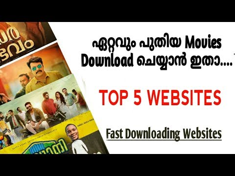Top 5 movie Downloading Websites | Malayalam| movie websites