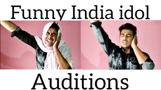 Funny India idol auditions|| Sarfaz07||