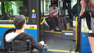 I get on an accessible bus in Vancouver!