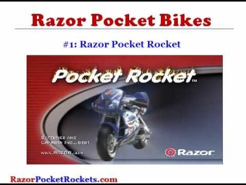 Razor Pocket Rocket Bikes Youtube