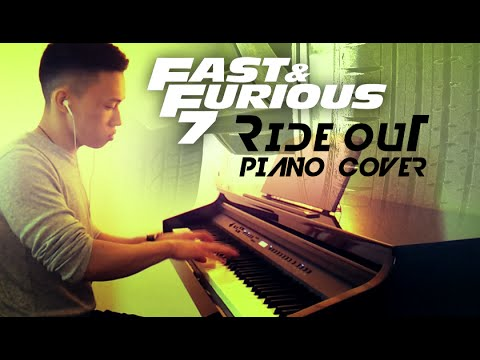 Ride out kid ink tyga yg wale rich homie quan piano cover by