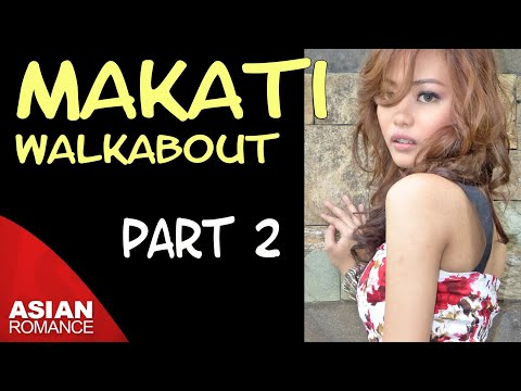 Makati, Philippines | Walking Tour - Part 2 - Weekend Market, Landmark Food Court, Greenbelt 3