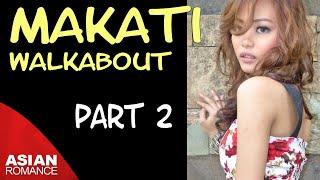 Makati, Philippines   Walking Tour - Part 2 - Weekend Market, Landmark Food Court, Greenbelt 3