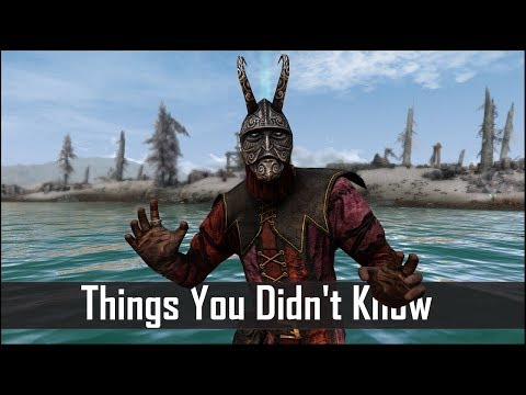 Skyrim: 5 Things You Probably Didn't Know You Could Do - The Elder Scrolls 5: Secrets (Part 14)