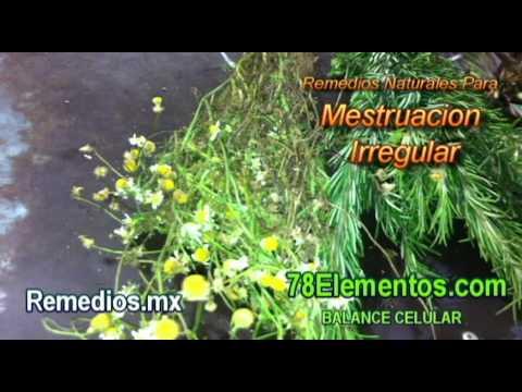 Remedios Naturales Para La Menstruacion Irregular.avi