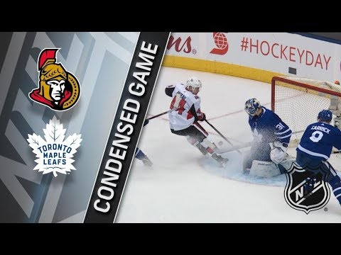 Ottawa Senators vs Toronto Maple Leafs – Jan. 10, 2018 | Game Highlights | NHL 2017/18. Обзор матча