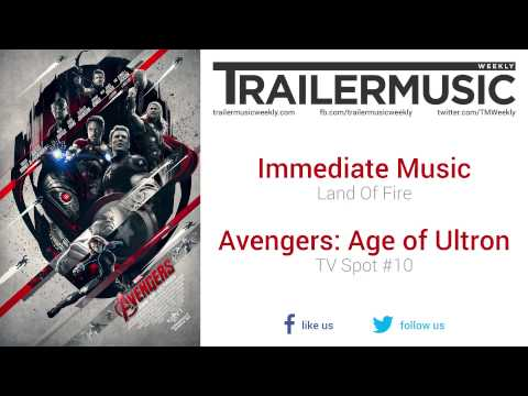 Avengers: Age of Ultron - TV Spot #10 Music (Immediate Music - Land Of Fire)