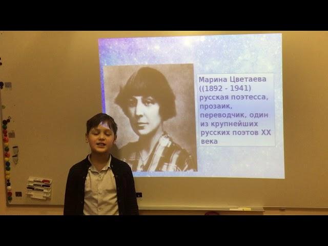 Изображение предпросмотра прочтения – ИванСидоренков читает произведение «Без повороту...» М.И.Цветаевой
