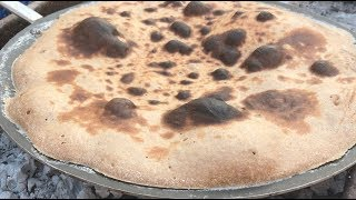 طريقة عمل الخبز على الجمر خبز سهل لذيذ و مفيد Youtube