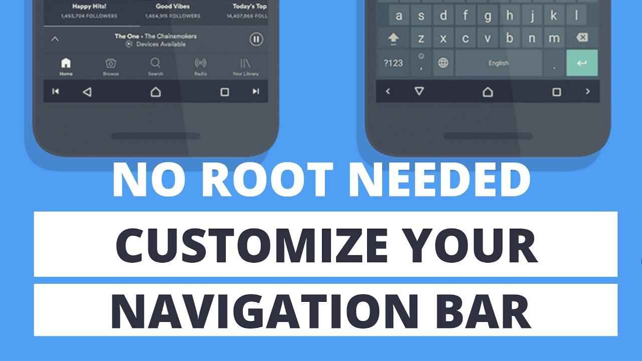 Customize Navigation Bar Without ROOT - New Nougat Hidden Feature
