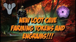 Destiny 2 - NEW LOOT CAVE!!! - Easy way to farm Nessus Tokens and Engrams