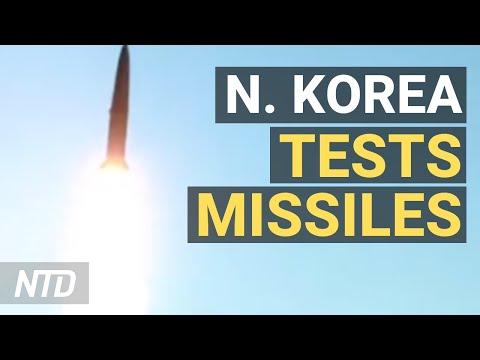 North Korea Follows Threats With Missiles Tests; Gun Advocates Say Gun Reform Strips Freedom   NTD