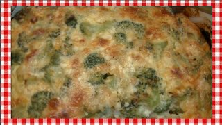 Broccoli & Cheese Souffle Recipe ~ Noreen's Kitchen