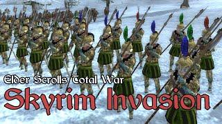 Elder Scrolls Total War Online Battle #3 - (1v1) - Skyrim Invasion