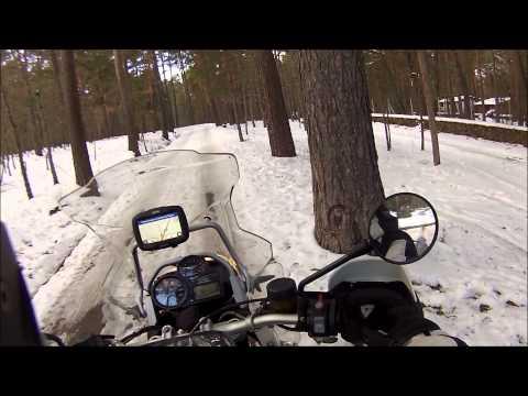 Haciendo el cabra por la sierra nevada de Madrid