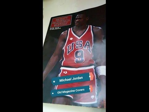 Michael Jordan old magazine cover